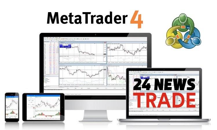 MetaTrader 4 у брокера 24NewsTrade