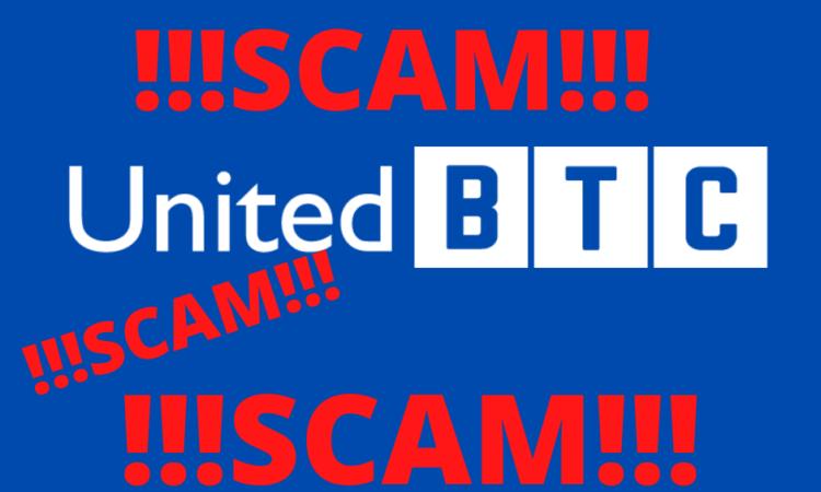 United BTCBank мошенники, scam