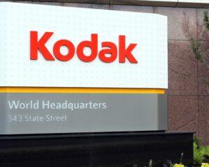 Акции компании Kodak выросли почти на 90%
